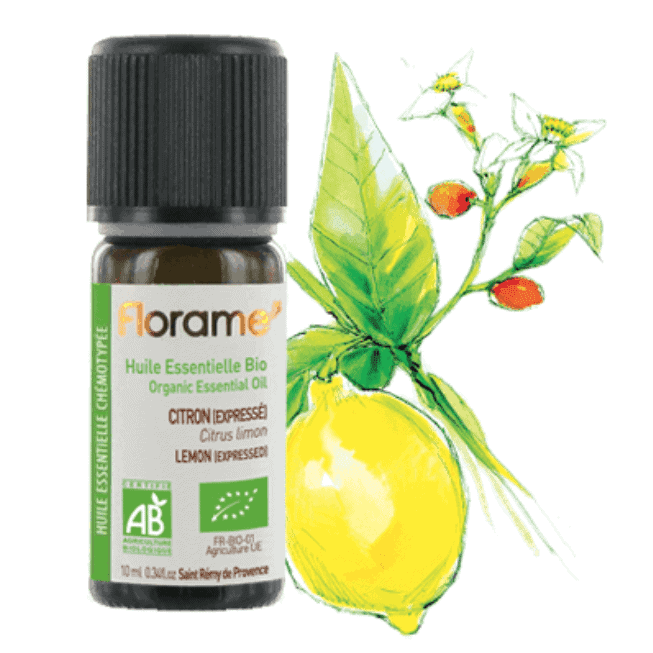 Florame Organic Lemon Express EO, 10ml