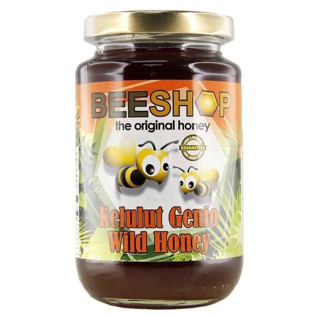 Beeshop Kelulut Genio Wild Raw Honey, 450g