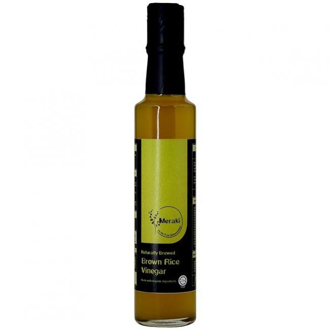 Meraki Organic Brown Rice Vinegar, 250ml
