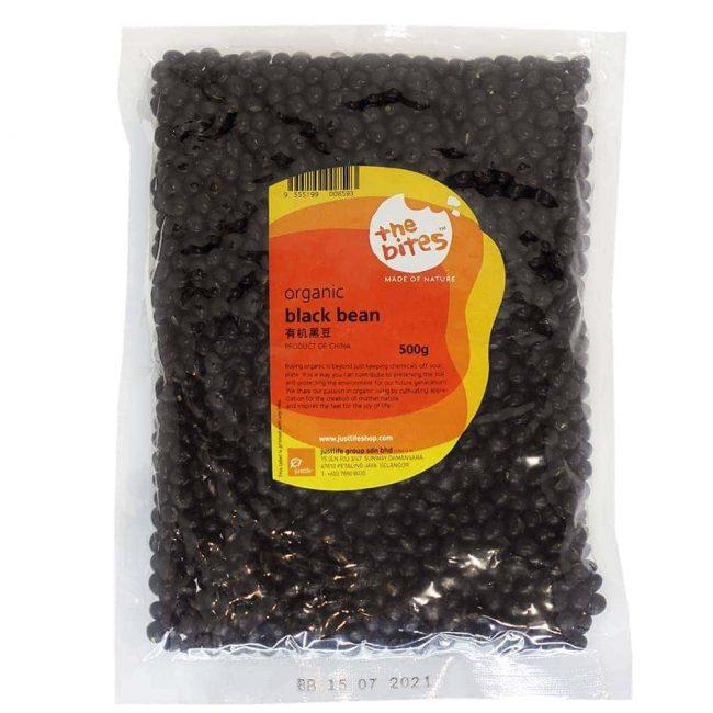 The Bites Organic Black Bean, 500g
