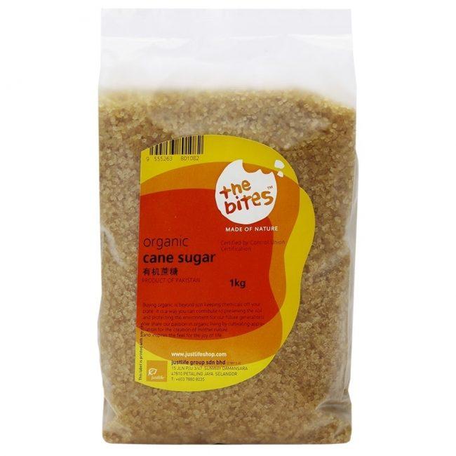 The Bites Organic Cane Sugar, 1kg