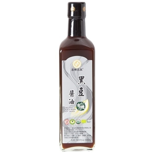 Joyspring Organic Black Bean Soy Sauce, 500ml