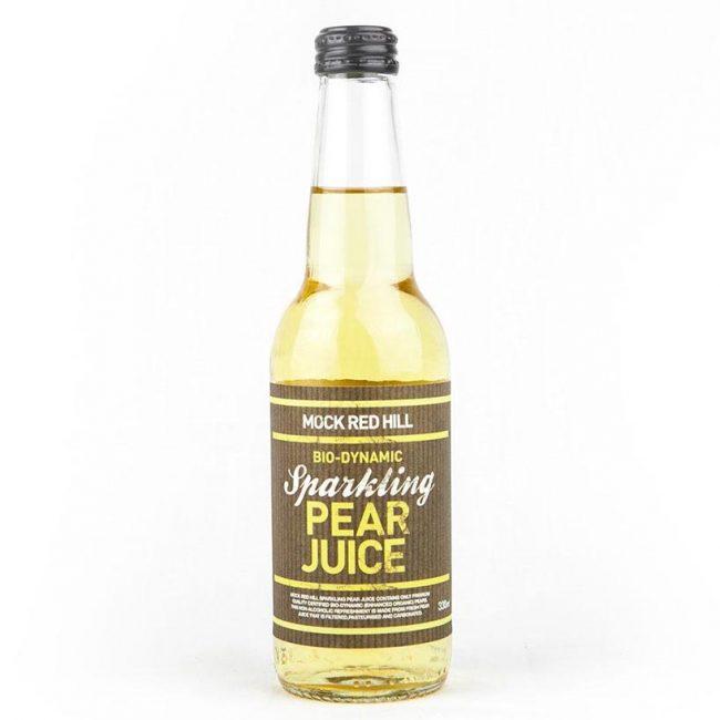 Mock Red Hill Biodynamic Sparkling Pear Juice, 330ml