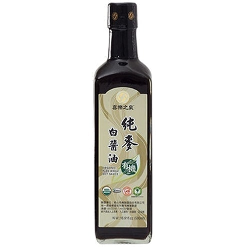 Joyspring Organic Wheat Soy Sauce, 500ml