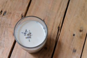 Organic Honey Lavender Milk Recipe