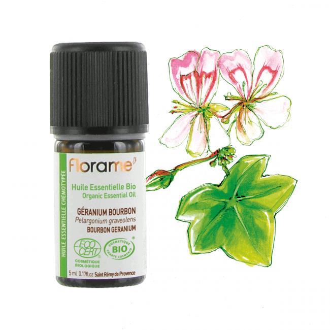 Florame Bourbon Geranium Organic Essential Oil