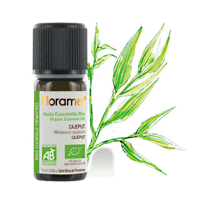 Florame Cajeput ORG Essential Oil, 10ml