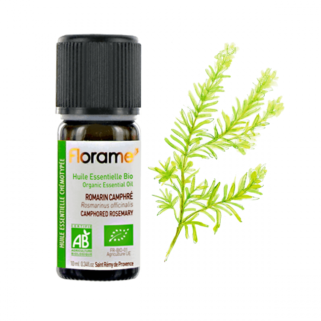 Florame Camphorated Rosemary Organic Essential Oil , 10ml