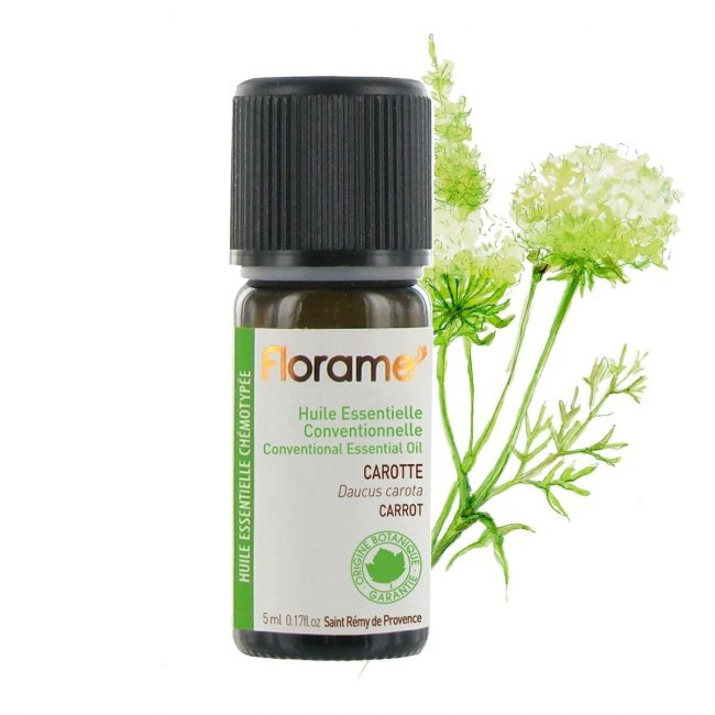 Florame Carrot Conventional Essential Oil, 5ml