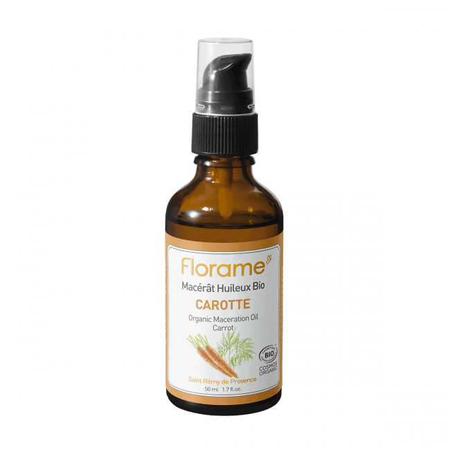 Florame Carrot Macerate ORG Vegetable Oil, 50ml