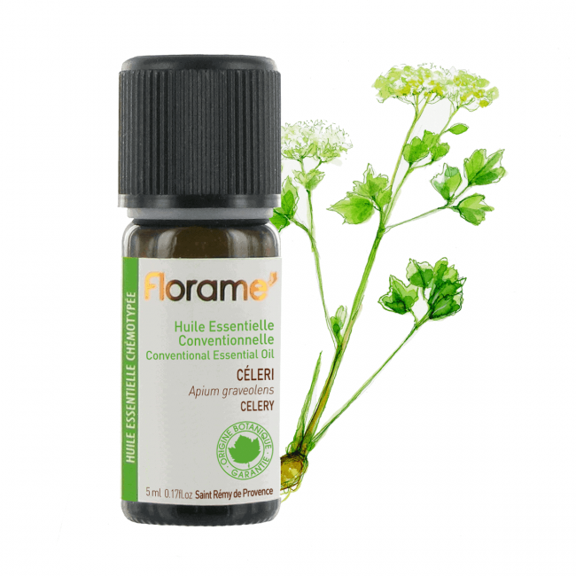 Florame Celery Conventional Essential Oil, 5ml
