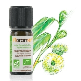 Florame Citriodora Eucalyptus Organic Essential Oil, 10ml