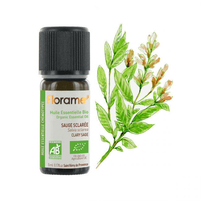 Florame Clary Sage ORG Essential Oil, 5ml