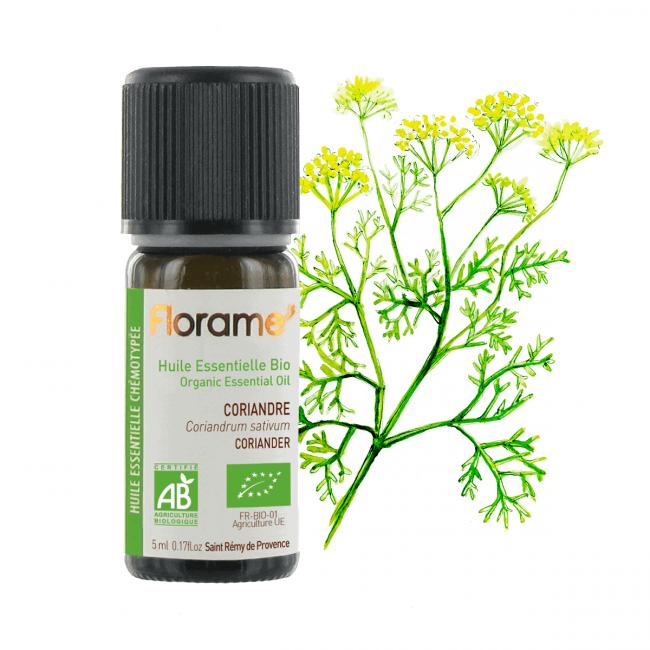 Florame Coriander ORG Essential Oil, 5ml