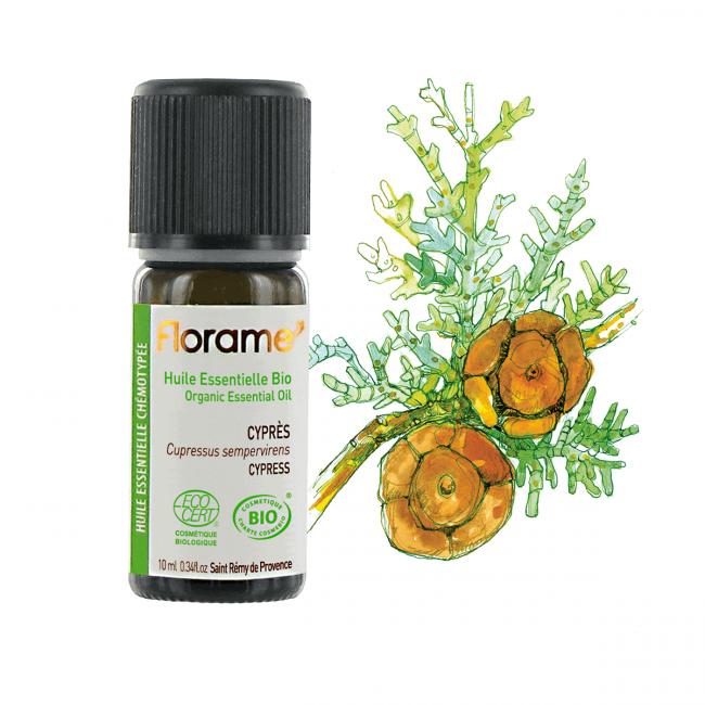 Florame Cypress ORG Essential Oil, 10ml