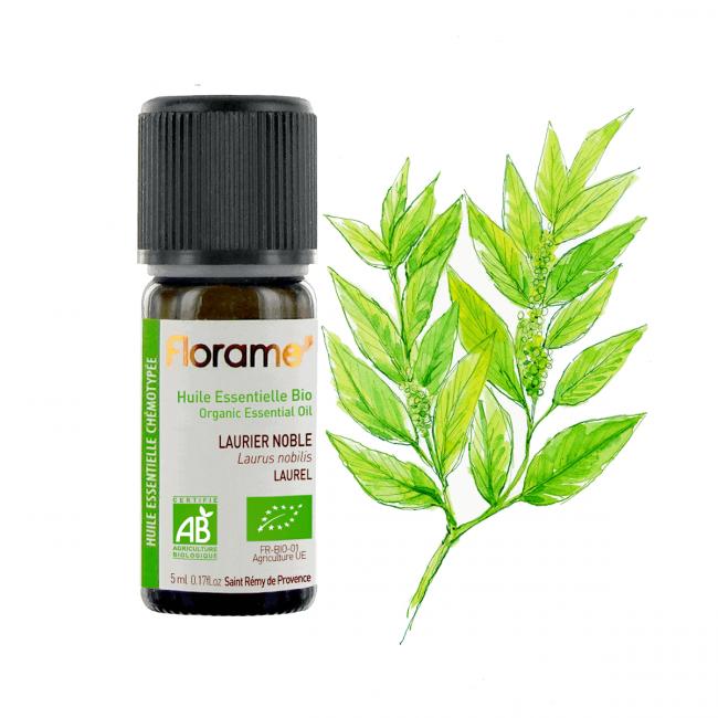 Florame Laurel ORG Essential Oil, 5ml