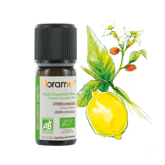 Florame Lemon (Expressed) ORG Essential Oil