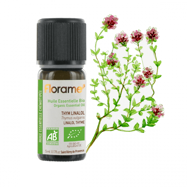 Florame Linalol Thyme ORG Essential Oil, 5ml
