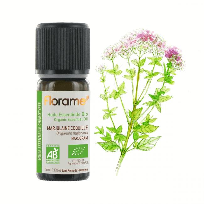 Florame Marjoram ORG Essential Oil, 5ml