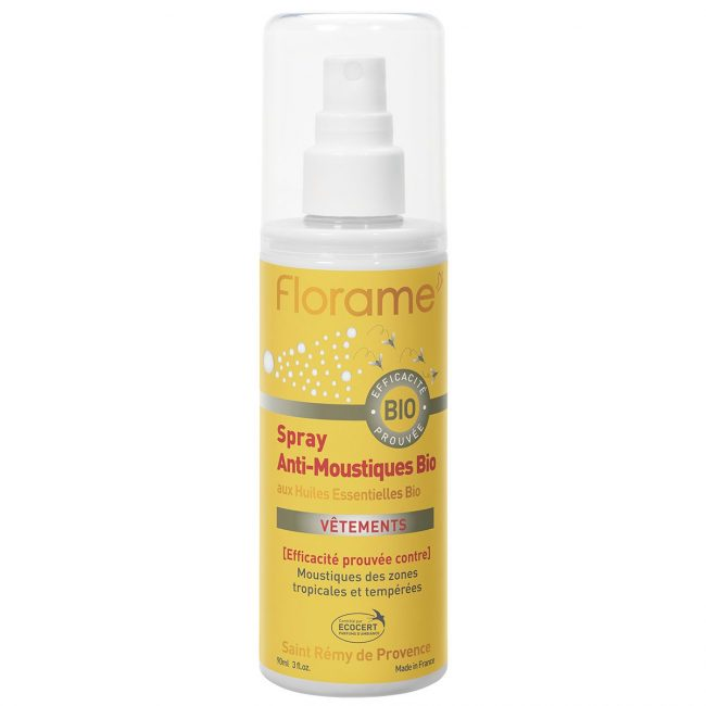 Florame Org Mosquito Repellent Spray, 90ml
