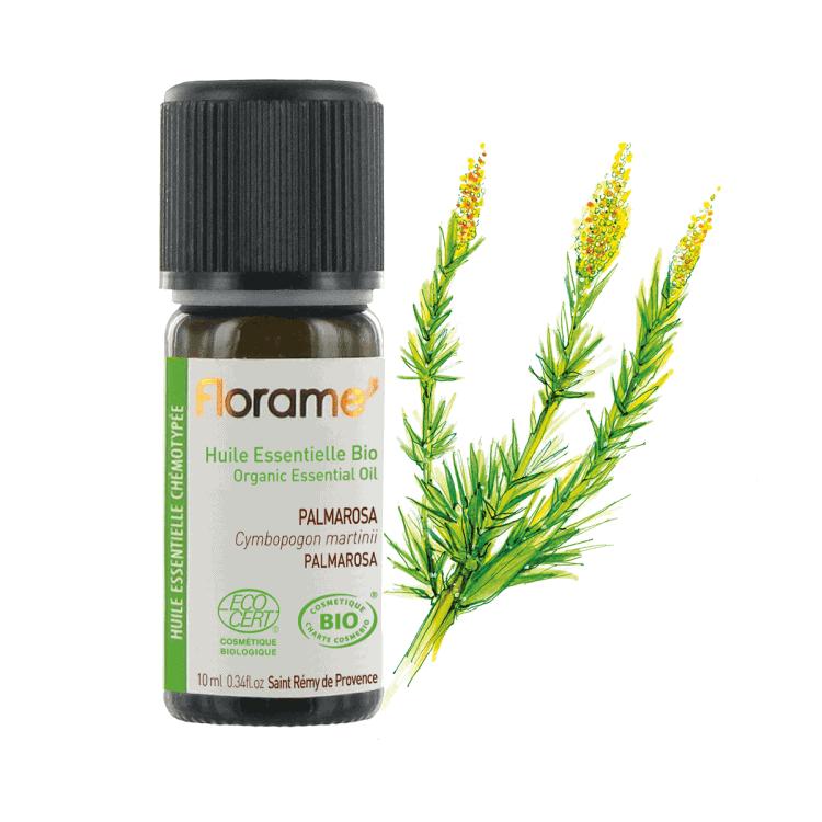 Florame Palmarosa ORG Essential Oil, 10ml