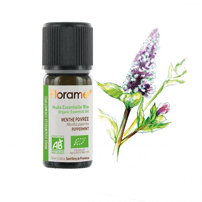 Florame Peppermint Organic Essential Oil
