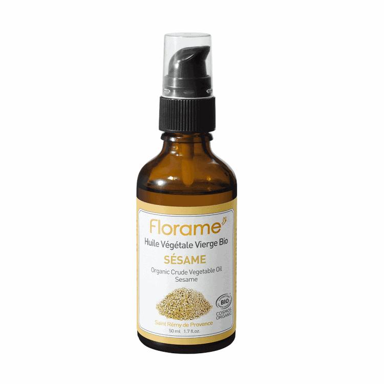 Florame Sesame ORG Vegetable Oil, 50ml