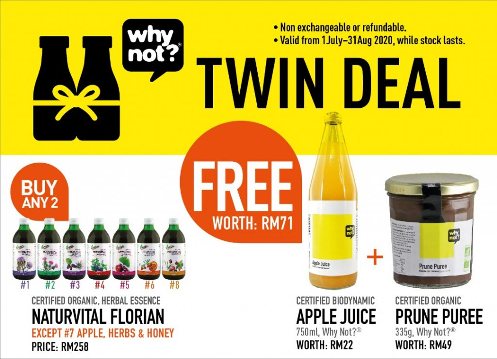 Naturvital Florian Drink Blends Twin Deal Promotional