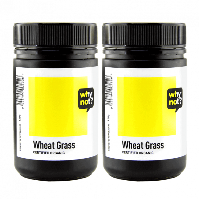 TWIN DEAL: Why Not? Wheat Grass Powder, 100g