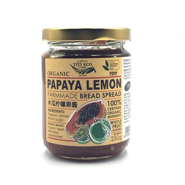 Titi Papaya Lemon Spread, 250g