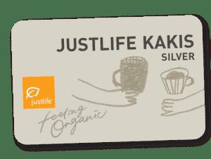 JUSTLIFE KAKIS SILVER CARD