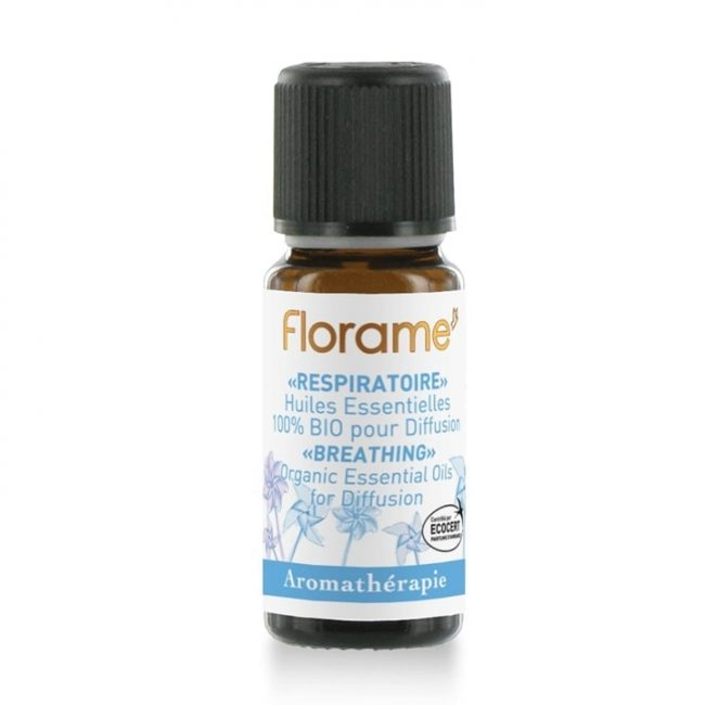 Florame Breathing Organic Essential Oils for Diffusion, 10ml