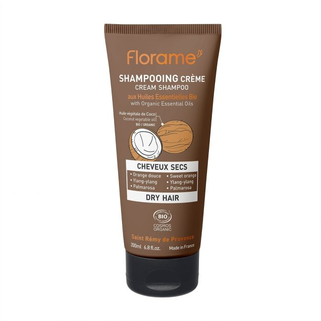 Florame Dry Hair Cream Shampoo, 200ml