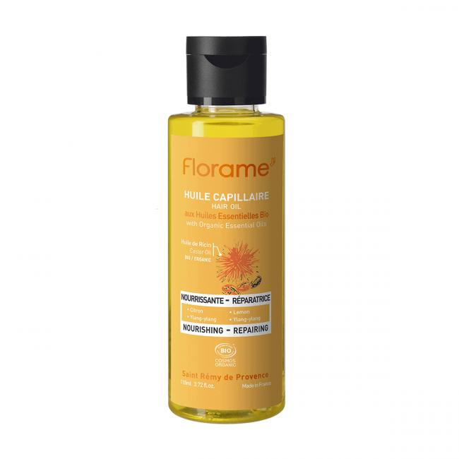 Florame Nourishing Hair Oil, 110ml
