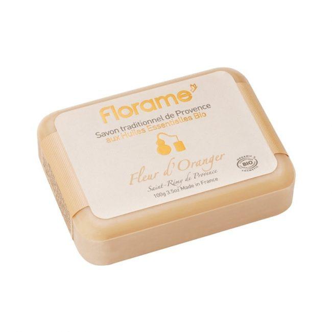 Florame Orange Blossom Traditional Soap, 100g