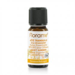 Florame Quiet Summer With Citronella Organic Essential Oils for Diffusion 10ml