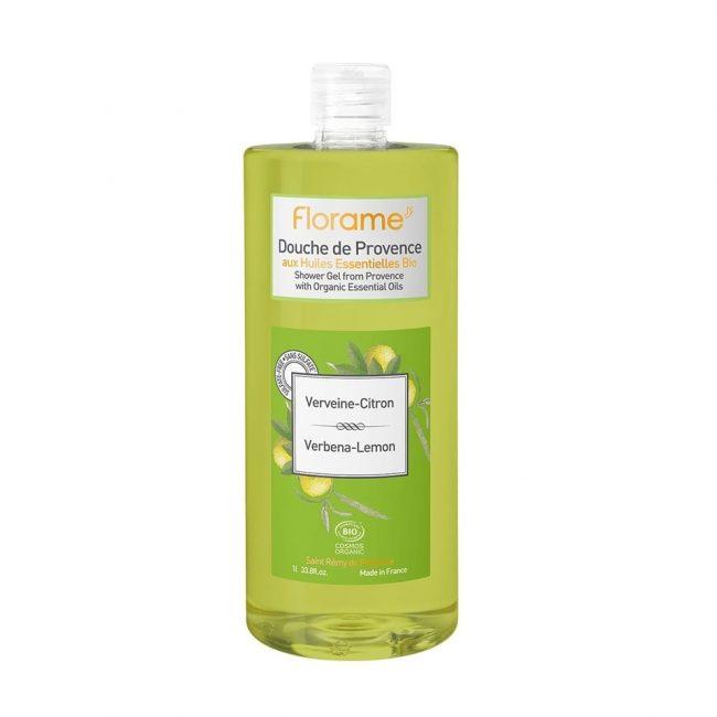 Florame Verbena-Lemon Shower Gel, 1L