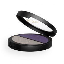 INIKA Pressed Mineral Eye Shadow Duo 8g Purple Platinum