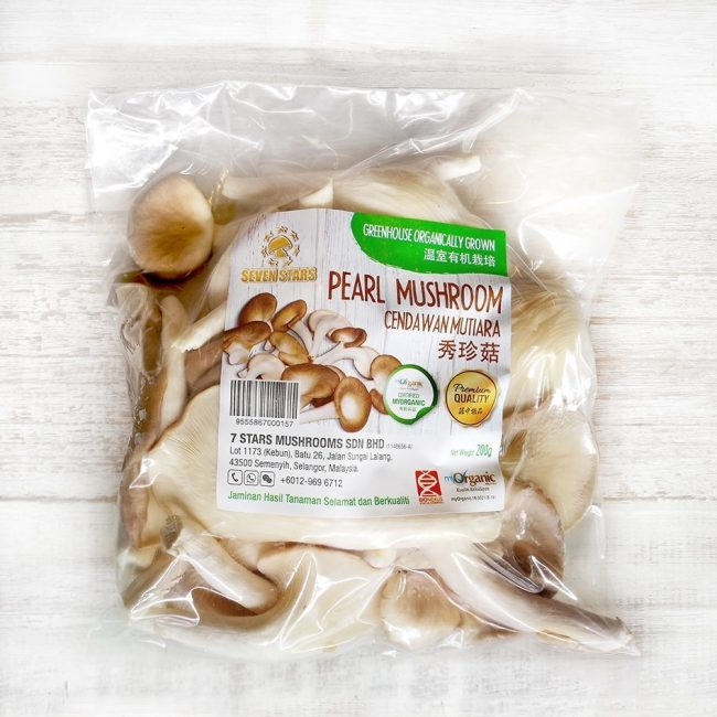 7 Stars Organic Pearl Mushroom, 200g