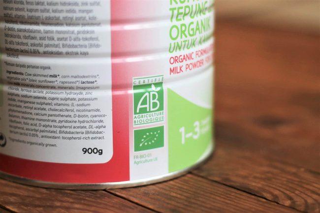 Babybio Organic Deserve Formulated Cow's Milk for Children, 1-3 years, 900g