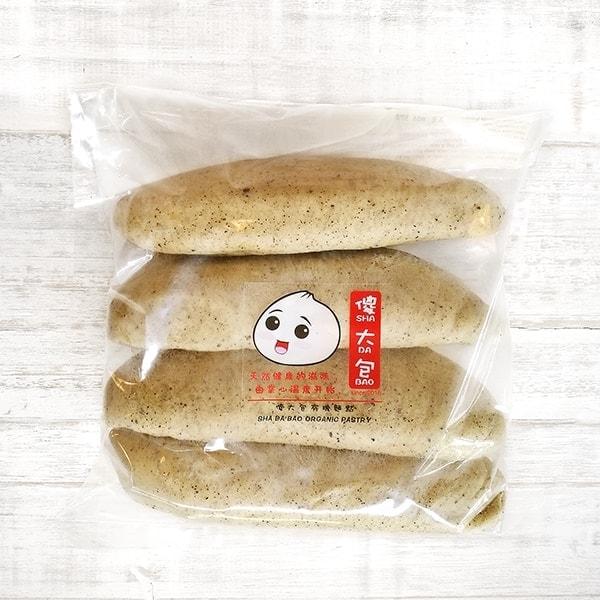 Sha Da Bao Black Sesame Steamed Bun (4pcs)