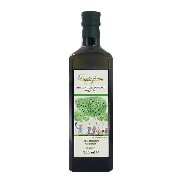 Poggiagliolmi Organic Extra Virgin Olive Oil, 500ml