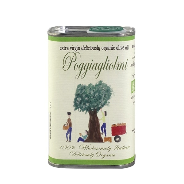 Poggiagliolmi Organic Extra Virgin Olive Oil, 250ml
