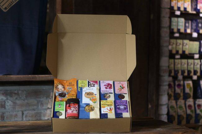 Justlife Sonnentor Organic Gift Box