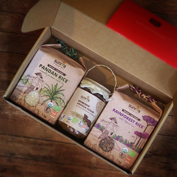 Why Not Organic Rice Up Gift Box 2021 contents 350x350 1