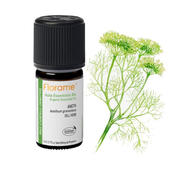 Florame Organic Dill Essential Oil, 5ml