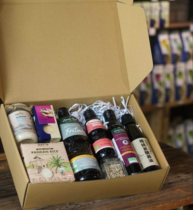 Organic Home Kitchen Gift Box