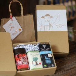 Mini organic gift box