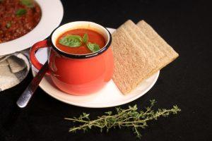 Smoky Tomato and Lentil Soup Recipe