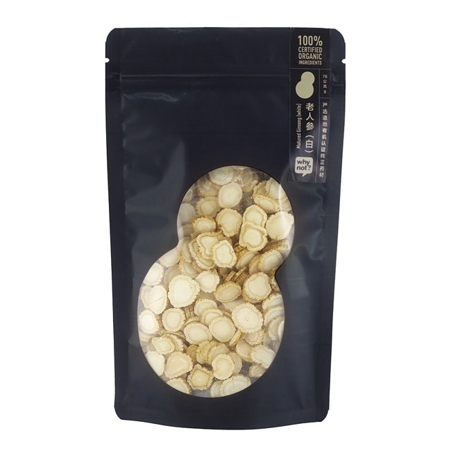 Why Not?® Matured White Ginseng 老人参(白), 76g